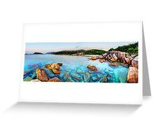 Island Paradise Dreaming Greeting Card