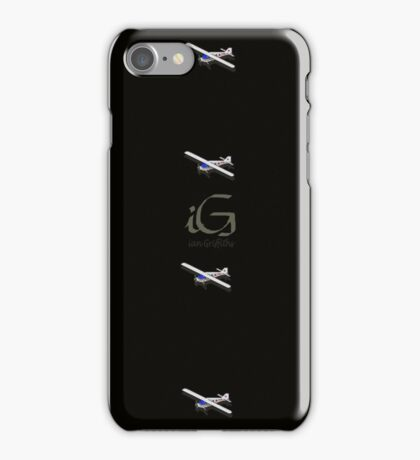 Pixel airlines plane iPhone Case/Skin