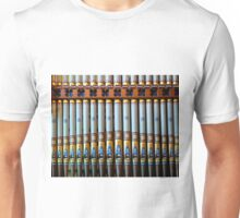 Colourful organ pipes Unisex T-Shirt