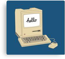 Original 1984 Macintosh Canvas Print