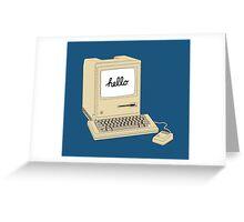 Original 1984 Macintosh Greeting Card