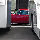 Red Porsche 911 - Side View by Stuart Row