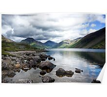 Wastwater Morning Calm Poster