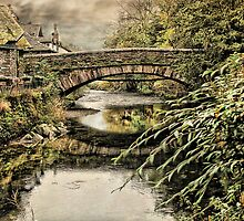 The Bridge at Grassmere  by Irene  Burdell