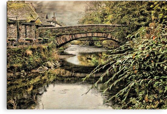 The Bridge at Grassmere  by Irene  Burdell