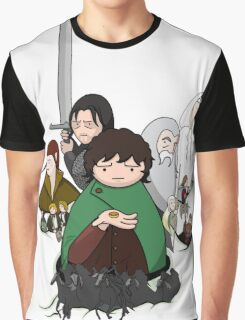 Tolkien Time - The Fellowship Graphic T-Shirt