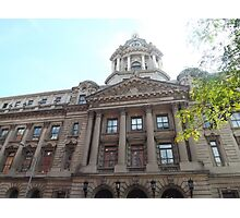 Classic Architecture, Former Police Headquarters, Centre Street, Lower Manhattan, New York City Photographic Print