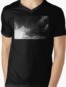 Partly Cloudy IV Mens V-Neck T-Shirt