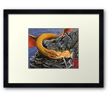 Dragon Nest Raider Framed Print