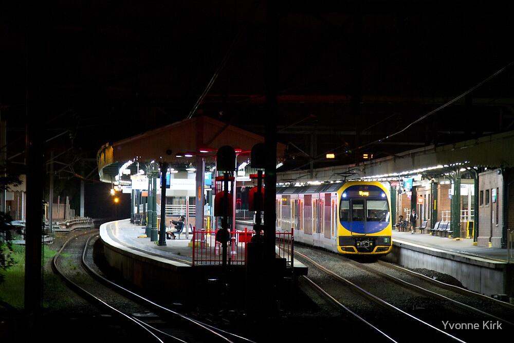 Strathfield Station by Yvonne Kirk