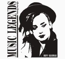 MUSIC LEGENDS - BOY GEORGE by Hendrie Schipper