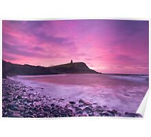 Kimmeridge Sunrise Poster