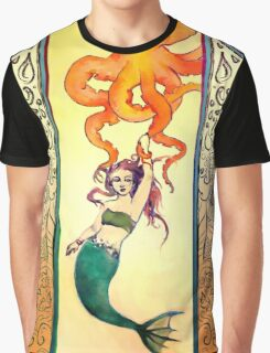 Seafaring with Cephalopod Graphic T-Shirt