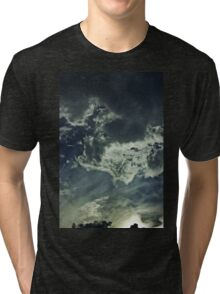 Partly Cloudy V Tri-blend T-Shirt