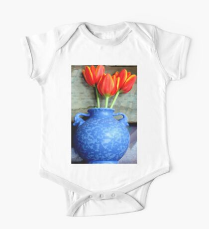 Elephantine Tulips One Piece - Short Sleeve
