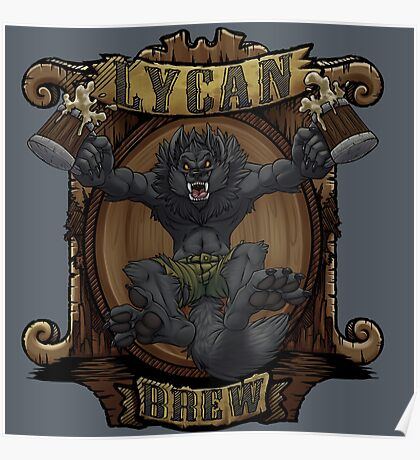 Lycan Brew Poster