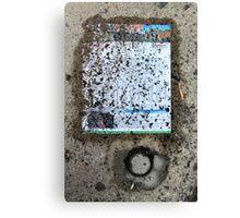 information lost Canvas Print