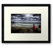 Seaside Music Framed Print