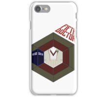 The 5th Doctor iPhone Case/Skin