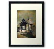 Church and Lytchgate Framed Print