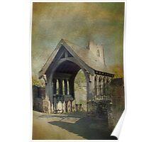 Church and Lytchgate Poster