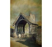 Church and Lytchgate Photographic Print