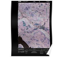 USGS Topo Map Washington State WA Morton 20110511 TM Inverted Poster