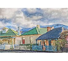 Homes of Battery Point Photographic Print