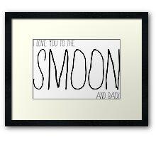Smoon Framed Print