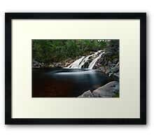 Mary Ann Falls, Cape Breton, Nova Scotia Framed Print
