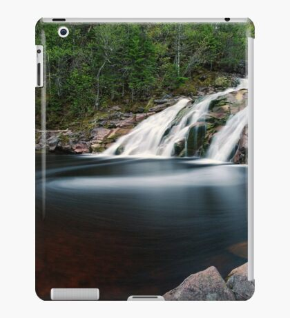Mary Ann Falls, Cape Breton, Nova Scotia iPad Case/Skin