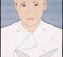 Chef Gordon Ramsay Portrait by nealcampbell