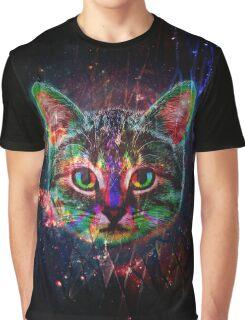 Planet Cat Graphic T-Shirt