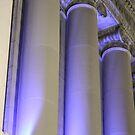 Blue Columns by Dean Mucha