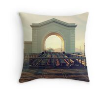 Ferry Arch Throw Pillow