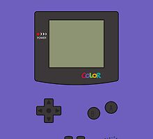 Gameboy Color iPhone/iPad Cases! (Grape) by vxspitter