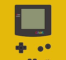 Gameboy Color iPhone/iPad Case ! (Dandelion) by vxspitter
