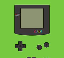 Gameboy Color iPhone/iPad Case! (Kiwi) by vxspitter