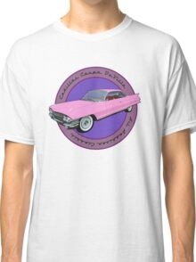Pink Cadillac - Classic American Retro Car  Classic T-Shirt