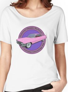Pink Cadillac - Classic American Retro Car  Women's Relaxed Fit T-Shirt
