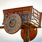 Costa Rican Ox Cart Sign by Robert Kelch, M.D.