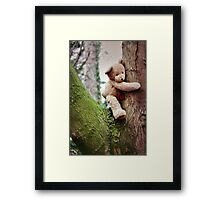 Tree Hugging Framed Print