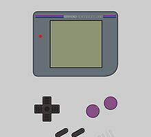 Gameboy ! Clothing/iCase/Stickers  by vxspitter