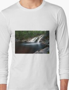 Mary Ann Falls, Cape Breton, Nova Scotia Long Sleeve T-Shirt