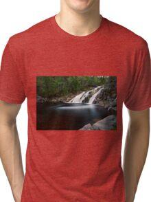 Mary Ann Falls, Cape Breton, Nova Scotia Tri-blend T-Shirt