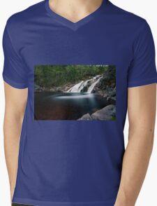 Mary Ann Falls, Cape Breton, Nova Scotia Mens V-Neck T-Shirt