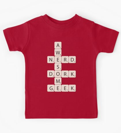 Awesome Scrabble Kids Tee