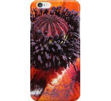 Poppin' Poppy iPhone Case/Skin