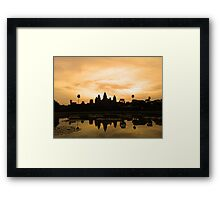 Siem Reap  Framed Print