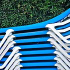 blue chairs by richard  webb